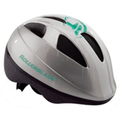 Rollerblade Zap Girls Fitness Helmet 2016, Silver-Green, medium
