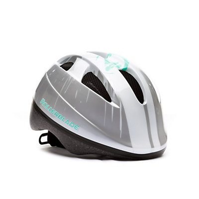 Rollerblade Zap Girls Fitness Helmet 2017, Silver-Green, viewer