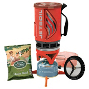 Jet Boil Flash Java Kit Stoves 2013, Tomato, medium