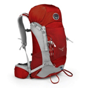 Osprey Kestrel 28 Backpack 2013, Fire Red, medium