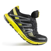 Salomon XR Mens Shoes, Black-Black-Canary Yellow, medium