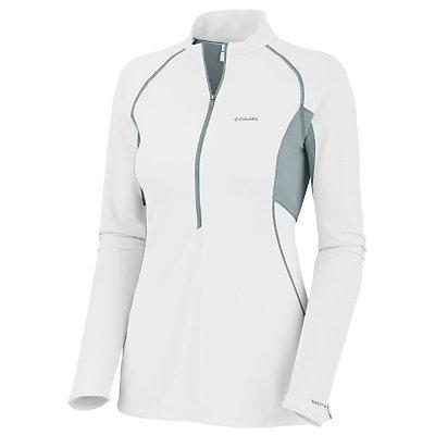 Columbia Bug Shield Sporty 1/2 Zip Womens Shirt, , large