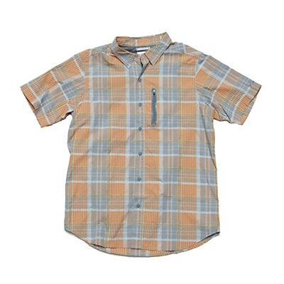 Columbia Rappel Kick Plaid Short Sleeve Performance Shirt, , large