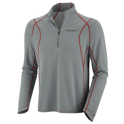 Columbia Bug Shield Sporty 1/2 Zip Mens Shirt, , large