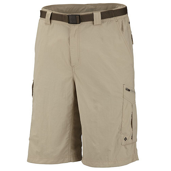 Columbia Silver Ridge Cargo 12 Inch Mens Shorts, Fossil, 600