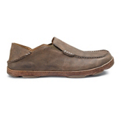 Olukai Moloa Mens Shoes, Ray-Toffee, medium