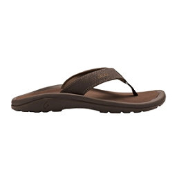 OluKai Ohana Mens Flip Flops, Dark Java-Ray, 256