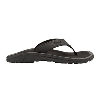 OluKai Ohana Mens Flip Flops, Dark Java-Ray, viewer