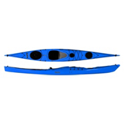 P&H Delphin 150 Touring Kayak, Blue, medium