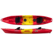 Feel Free Corona Tandem Kayak 2013, Red-Yellow-Red, medium