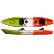 Feel Free Corona Tandem Kayak, Orange, medium