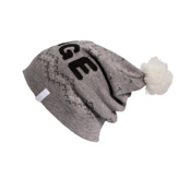 Orage Barrie Beanie Womens Hat, Heather Grey, medium