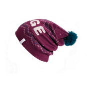 Orage Barrie Beanie Womens Hat, Berry, medium
