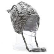 Orage Artic Beanie Womens Hat, White, medium