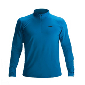 Orage Maikel Baselayer Mens Long Underwear Top, Blue, medium