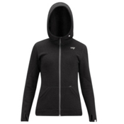 Orage Teslin Jacket Womens Mid Layer, Black, medium