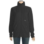 Orage Keele Fleece Womens Jacket, Black, medium