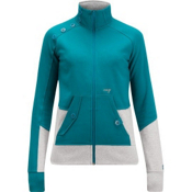 Orage Keele Fleece Womens Jacket, Lagoon, medium