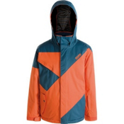 Orage Kaslo Boys Ski Jacket, Spice-Deep Sea, medium