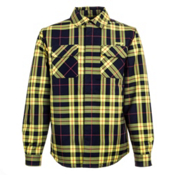 Orage Duncan Jacket Flannel, Plaid Navy, medium