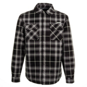 Orage Duncan Jacket Flannel, Plaid Black, medium