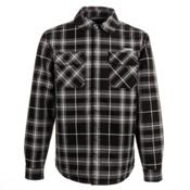 Orage Duncan Jacket Flannel, Plaid Black, medium