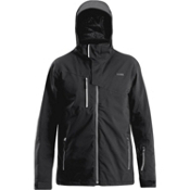 Orage Truckee Mens Insulated Ski Jacket, Black, medium