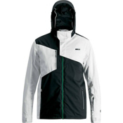 Orage Truckee Mens Insulated Ski Jacket, White, medium
