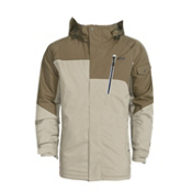 Orage Shefford Mens Insulated Ski Jacket, Cement, medium