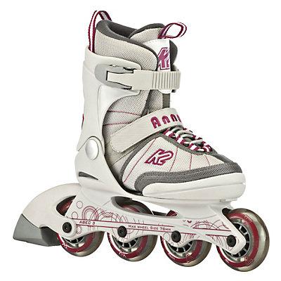 K2 Anna Jr Adjustable Girls Inline Skates, , large