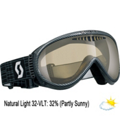 Scott Storm OTG Goggles, Black-Nl 32 Black Chrome, medium