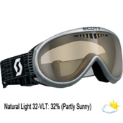 Scott Storm OTG Goggles, Silver-Nl 32 Black Chrome, medium