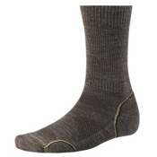 SmartWool PhD Outdoor Light Crew Socks, Taupe, medium