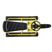Baud Snowslider Sled, Yellow, medium
