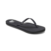 Reef Stargazer Womens Flip Flops, Black, medium