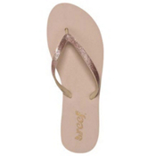 Reef Stargazer Womens Flip Flops, Rose Gold, medium