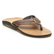 Reef Playa Cervesa Mens Flip Flops, Brown-Gum, medium