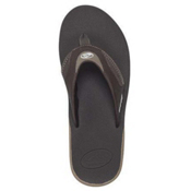 Reef Fanning Mens Flip Flops, Brown Lux, medium