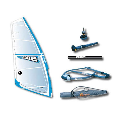 Bic 6.0 Core Windsurf Rig