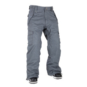 686 Mannual Infinity Insulated Mens Snowboard Pants, Gunmetal Herringbone Check, medium