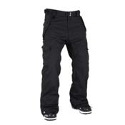 686 Mannual Infinity Insulated Mens Snowboard Pants, Black, medium