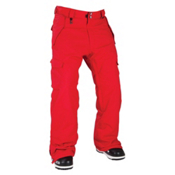 686 Mannual Infinity Insulated Mens Snowboard Pants, Red, medium