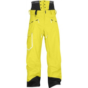 Salomon Sideways II Mens Ski Pants, Corona Yellow, medium