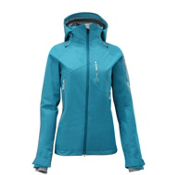 Salomon Sideways 3L Womens Insulated Ski Jacket, Bay Blue, medium