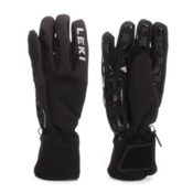 Leki Pipe Master Gloves, Black, medium