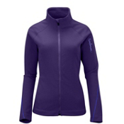 Salomon Helix II Womens Mid Layer, Eggplant, medium