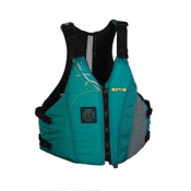 Astral Linda Womens Kayak Life Jacket, Teal, medium