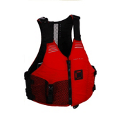 Astral Ronny Adult Kayak Life Jacket 2013, Red, medium