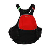 Astral Sea Wolf Adult Kayak Life Jacket 2013, Red, medium