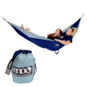 ENO Double Nest Hammock, Powder Blue-Blue, medium